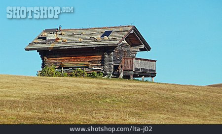 Wooden House, Hut, Wipptal