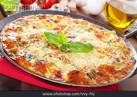 Egg Meal, Omelet, Frittata