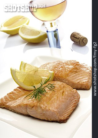 Fish Dish, Salmon Fillet