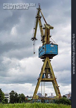 Harbor Crane, Shipyard Crane