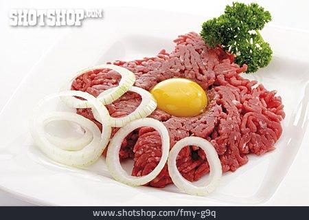 Ingredient, Tartar, Ground Beef