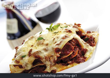 Lasagna, Lunch