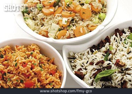 Rice Dish, Vegetarian