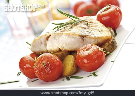 Fish Dish, Nile Perch Filet