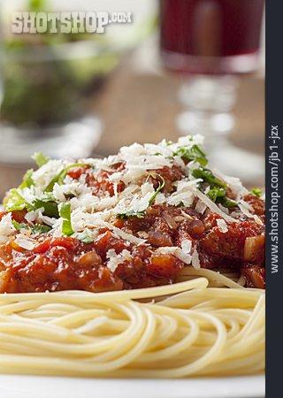 Spaghetti, Parmesan, Napoli