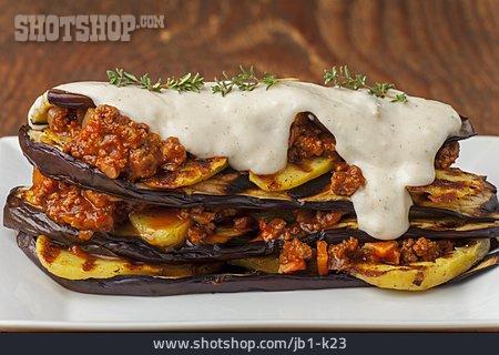 Eggplant Souffle, Moussaka