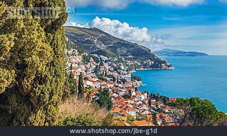 City View, Dubrovnik, Adriatic Coast