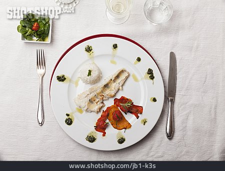 Fish Dish, Pike Perch Fillet