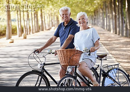 Cycling, Bicycle Tour, Older Couple