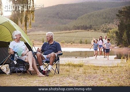 Camping, Generations, Family Vacations, Nature