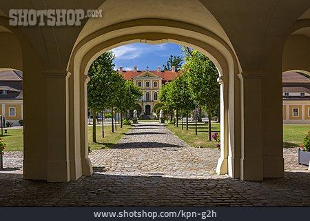 Baroque Castle, Rammenau Castle