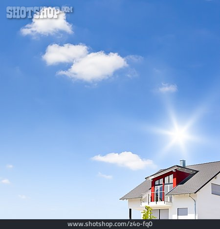 House, Property, New Building, Detached House