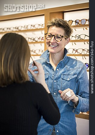 Glasses, Choosing, Optometrist, Optician