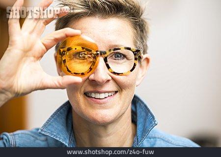 Glasses, Test, Optician