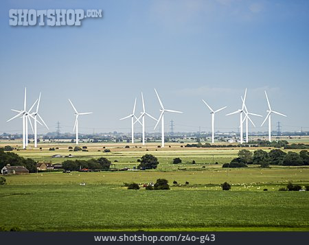 Wind Power, Windpark, Renewable Energy