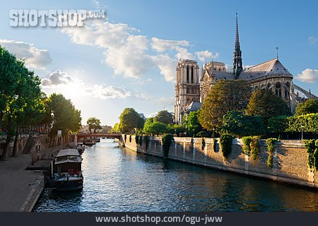 Seine, Paris, Notre Dame