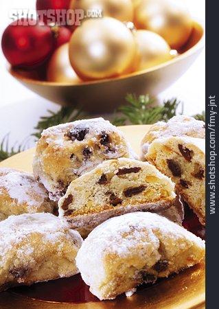 Christmas Cookies, Stollen, Stollen Sweets