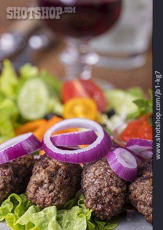 Turkish Cuisine, Meat Roll, Kofta