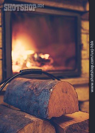 Fireplace, Firewood