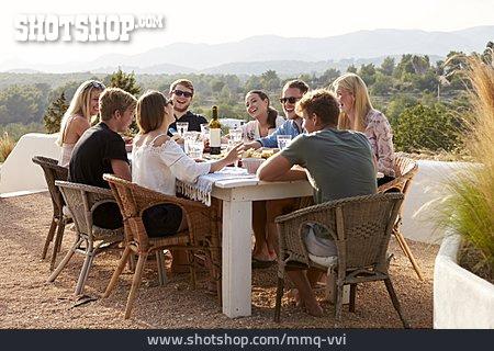 Friends, Dinner, Ibiza