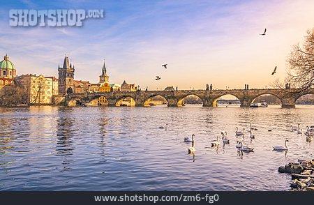 Prague, Charles Bridge, Staromestska Mostecka Vez