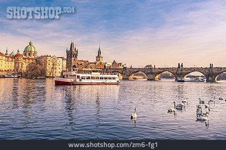 Boating, Prague, Charles Bridge