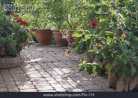 Flower Garden, Flower Pots