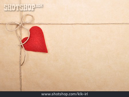 Copy Space, Heart, Greeting Card