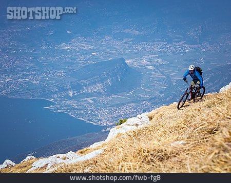 Extreme Sports, Mountain Bike, Mountain Biker