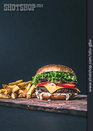 Fast Food, Hamburger, Burger