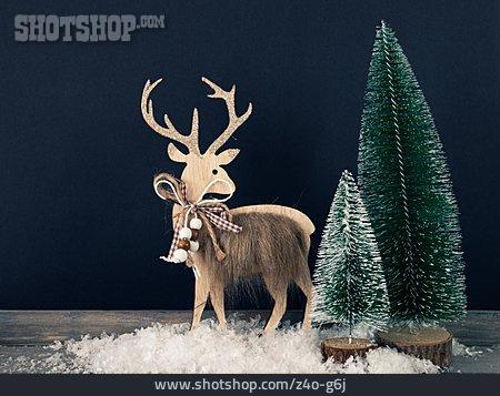 Deer, Christmas Decoration, Christmas