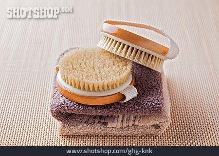 Towel, Massage Brush