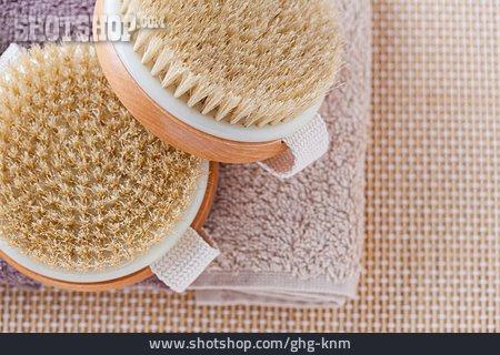 Skincare, Peeling, Spa, Wooden Brush