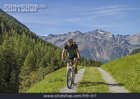 Mountain Biking, ötztal Alps
