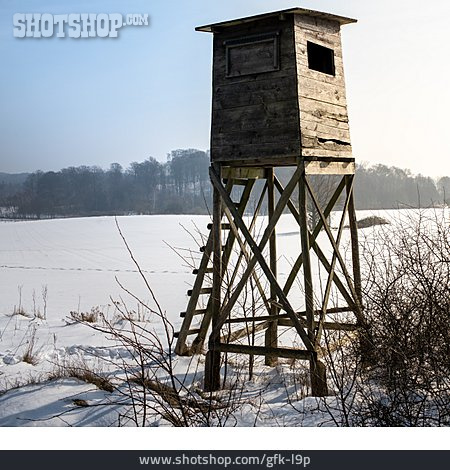 High Seat, Raised Stand, Hunting Tower