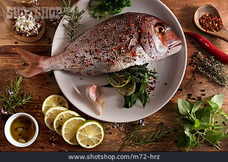 Spice Mixture, Mediterran, Gilt Head Bream