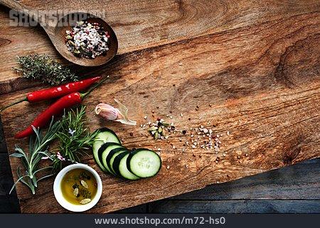Spice Mixture, Cutting Board