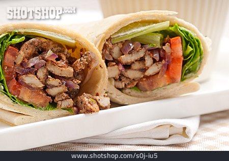 Sandwich, Kebab