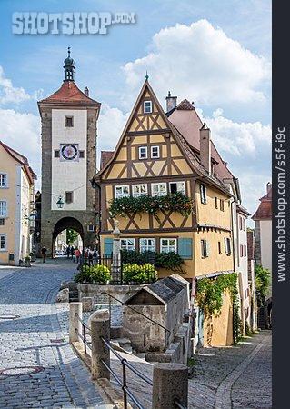 Old Town, Rothenburg Ob Der Tauber