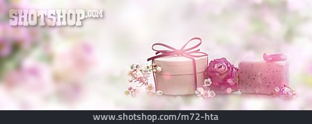 Gift, Mothers Day, Soap Rose