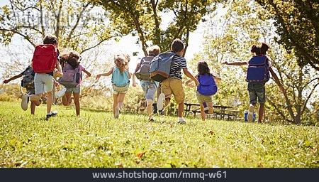 Childhood, Excursion, Friends