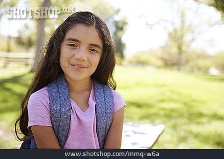 Girl, Smiling