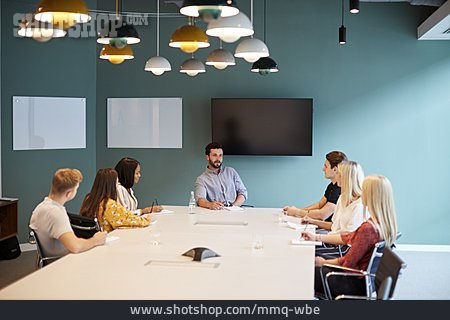 Meeting, Conference Room, Team Meeting