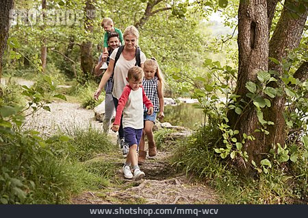 Hiking, Hiking, Family Outing