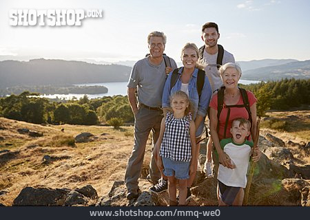 Hiking, Generations, Family Outing