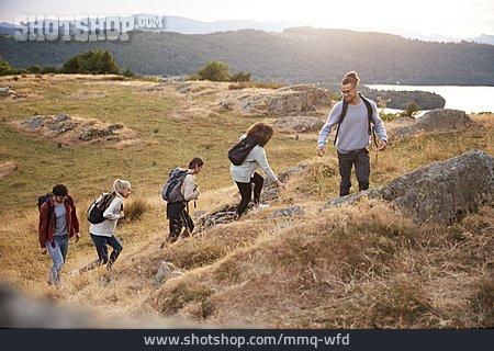 Friends, Hike