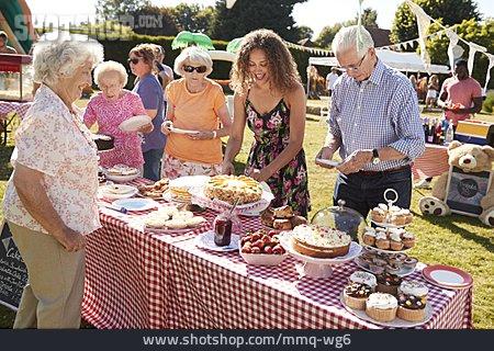 Nursing Home , Buffet, Garden Party