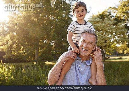 Grandson, Grandfather, Bonding