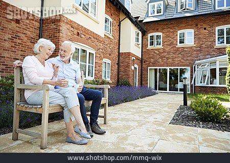 Together, Older Couple, Tea Time