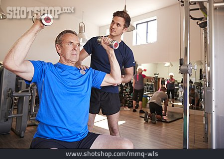 Active Seniors, Gym, Muscle